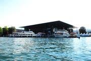 Das KKL, vom See aus gesehen. (Bild Corinne Glanzmann/Neue LZ)