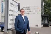 Peter With soll neuer Präsident des kantonalen Gewerbeverbandes werden. (Bild: Corinne Glanzmann (Luzern, 21. August 2017))