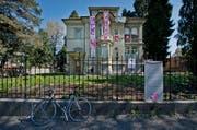 Die besetzte Villa an der Obergrundstrasse 99 in Luzern. (Bild: Pius Amrein)