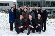 Der ehrenamtliche Beirat von links stehend: Anna Christen (Amt Willisau), Werner Riedweg (Stadt Luzern), Margrit Thalmann (Amt Entlebuch), Ruth Garcia (Nidwalden), Ueli Kaltenrieder (Verlag Neue LZ), Renate Falk (Zug), Esther Ettlin (Obwalden), Marianne Moser (Amt Hochdorf), Elisabeth Portmann (Geschäftsleiterin LZ-Weihnachtsaktion), Urs W. Studer (Präsident Beirat), Markus Tresch (Uri). Kniend von links: Hans Bucher (Amt Sursee), Hans Lustenberger (Luzern-Land), Eugen Müller (Schwyz). (Bild Dominik Wunderli)
