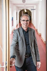 Stadtpräsident Beat Züsli (54) im Luzerner Stadthaus. (Bild: Nadia Schärli (18. September 2017))