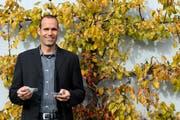 Daniel Zingg, Geschäftsführer der Andermatt Biocontrol AG, kann die Produktion ausbauen. (Archivbild Eveline Beerkircher / Neue LZ)