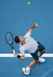 Auftakt nach Mass: Roger Federer. (Bild: Will Russell/Getty (Perth, 2. Januar))