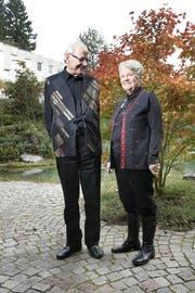 Der Pater und die Ordensfrau: Niklaus Brantschen und Pia Gyger. (Bild Werner Schelbert)