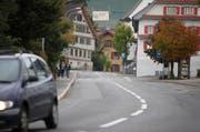 Die Dorfstrasse im Zentrum von Allenwinden. (Bild: Stefan Kaiser)