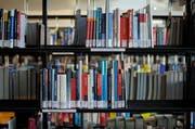 Offenbar besteht hier und dort noch etwas Bedarf an 'theoretischer Praxis'. Blick in eine Bibliothek der Hochschule Luzern. (Symbolbild Pius Amrein / Neue LZ)