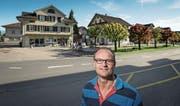 Im Dorfzentrum soll der Detailhandel gestärkt werden, fordern Walter Koch und seine Arbeitsgruppe. (Bild: Pius Amrein (Buttisholz, 16. Mai 2017))
