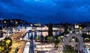 Zehntausende Besucher säumen am Luzerner Fest das Seebecken. (Bild: PD)