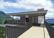 So könnte das neue Wohnheim aussehen. (Bild: Visualisierung: Dietschi-Architekten)
