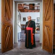 Vitus Huonder, Bischof des Bistums Chur. (Bild: Keystone/ Gaetan Bally)