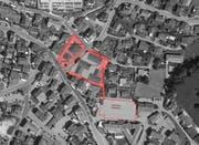 Übersicht über die geplanten Neuerungen im Dorf Ruswil. (Bild: PD)