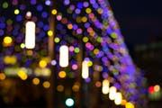 Weihnachtsbeleuchtung der Seebrücke (Bild: Dominik Baumgartner)