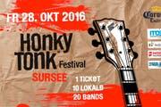 Am 28. Oktober findet in Sursee zum zweiten Mal das Honky Tonk Festival statt. (Bild: pd)