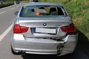 Mit diesem Auto ist der 67-Jährige kollidiert. (Bild: Luzerner Polizei)