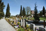 Die Sanierungsarbeiten am Friedhof im Friedental gehen in die vierte Etappe. (Bild: Archiv Neue LZ)