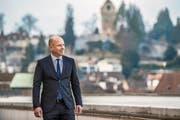 Daniel Salzmann, CEO der Luzerner Kantonalbank. (Bild: Nadia Schärli (Luzern, 31. Januar 2018))