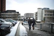 Spitalkosten belasten die Kantonsfinanzen in der Tendenz immer stärker. Im Bild das Areal des Luzerner Kantonsspitals. (Bild: Archiv Corinne Glanzmann / Neue LZ)