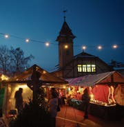 Der Wiehnachtsmärt Hochdorf findet traditionell am ersten Advent-Wochenende statt . (Bild: PD)