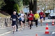 Gute Laufbedingungen beim letzten Silvesterlauf. (Bild: Erhard Gick / Neue SZ)