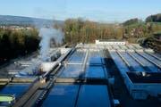 Die Abwärme der Kläranlage in Cham soll der Wärmegewinnung dienen. (Bild: Stefan Kaiser (Neue ZZ))