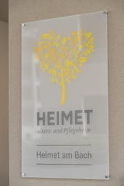 Logo des Alters- und Pflegeheim Heimet in Ennetbürgen. (Bild: PD)