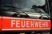 Dank dem schnellen Eingreifen der Feuerwehr konnte ein Übergreifen des Feuers auf andere Räume verhindert werden. (Symbolbild Adrian Venetz / Neue NZ)