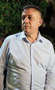 Avi Gabai am Tag seiner Wahl zum Parteivorsitzenden. (Bild: Tsafrir Abayov/AP)