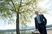 Er schaut nach vorne: Bernhard Kobler, ehemaliger CEO der Luzerner Kantonalbank. (Bild Nadia Schärli)