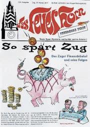 Das aktuelle «Feuerhorn»-Titelblatt. (Bild: Stefan Kaiser)
