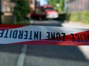 Ein Absperrband der Polizei (Archiv) (Bild: Keystone)
