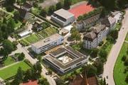 Die bisherige Pädagogische Hochschule Zug, St. Michael, wird selbständig. (Bild: Archiv PD)