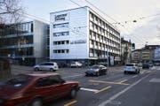 Das Gebäude der «Luzerner Zeitung» an der Maihofstrasse. (Bild: Jakob Ineichen (Luzern, 23. März 2018))