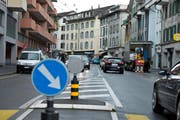Pulsierend, multikulturell, verkehrsgeplagt: Die Baselstrasse inLuzern. (Bild: Dominik Wunderli (Neue LZ))