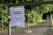 Beim Dammweg in Emmen wurde am 21. Juli 2015 eine 26-jährige Frau vergewaltigt. (Bild: Keystone / Alexandra Wey)