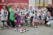 SG Eintracht Frankfurt , Sieger in der Kategorie U13. (Bild: Meienberger Photos)