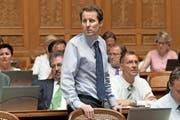 Bringt Thomas Aeschi mit 36 Jahren die nötige Erfahrung für den Bundesrat mit? Ausserhalb der SVP wird daran gezweifelt. (Bild: Keystone/Lukas Lehmann)