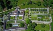 Das ehemalige Luzerner Krematorium aus der Vogelperspektive. (Bild PD Stadt Luzern)