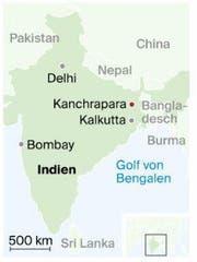Standort in Ostindien. (Bild: Quelle: Stepmap / Karte: dem)