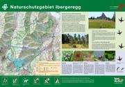 Neue Signalisation für das Naturschutzgebiet Ibergeregg (Bild: PD)