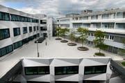Das Gebäude der Uni Luzern. (Bild: Eveline Beerkircher / Neue LZ)