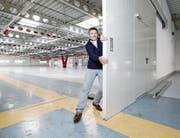 Landi Zugerland-Chef Hans Bellmont will schon bald die Türen des neuen Baarer Landi-Markts aufstossen. (Bild: Stefan Kaiser (31. Oktober 2017))