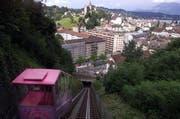 Die bisherige Gütsch-Zahnradbahn. (Archivbild/Neue LZ)