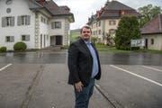 Jörg Vonmoos (28, CVP). (Bild: Nadia Schärli (Pfaffnau, 25. April 2017))