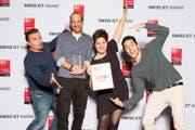Der Swiss ICT Award ging an Nomos Systems AG aus Winterthur. (Bild: Jonas Weibel)