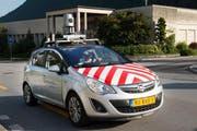 Mit dem Kamera-Auto weden Panoramabilder der Urner Kantonsstrassen erstellt. (Bild: Kapo Uri)