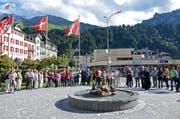 Die Gemeinde weihte den neugestalteten Eylipark am Dienstag feierlich ein. (Bild PD)