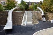 Parat: Hangrutschen mit Tunnel und extrabreit (Bild: Emanuel Ammon)