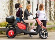 Mobility lanciert den umweltfreundlichen E-Roller. (Bild: Mobility)