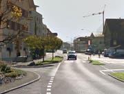 Der Unfall ereignete sich auf der Hauptstrasse in Wolfenschiessen beim Fussgängerstreifen vor dem Restaurant Eintracht. (Bild: Google Maps)