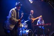 Toronzo Cannon gestern bei der Eröffnung des Lucerne Blues Festival im «Schweizerhof». (Bild Roger Grütter)